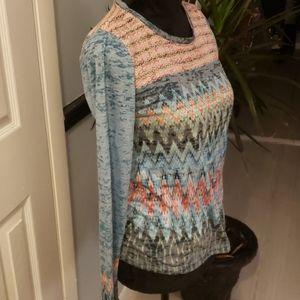 Prana Novelty long sleeve shirt size XS.